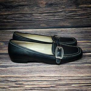 ANNE KLEIN IFLEX Suede Leather Slip On Flats 7.5